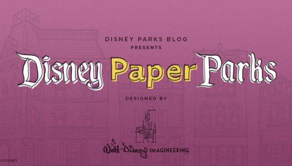 Disney Parks Blog Presents Disney Paper Parks Designed by Walt Disney Imagineering, Part 2