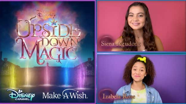 Upside Down Magic | Disney Channel - Make-A-Wish