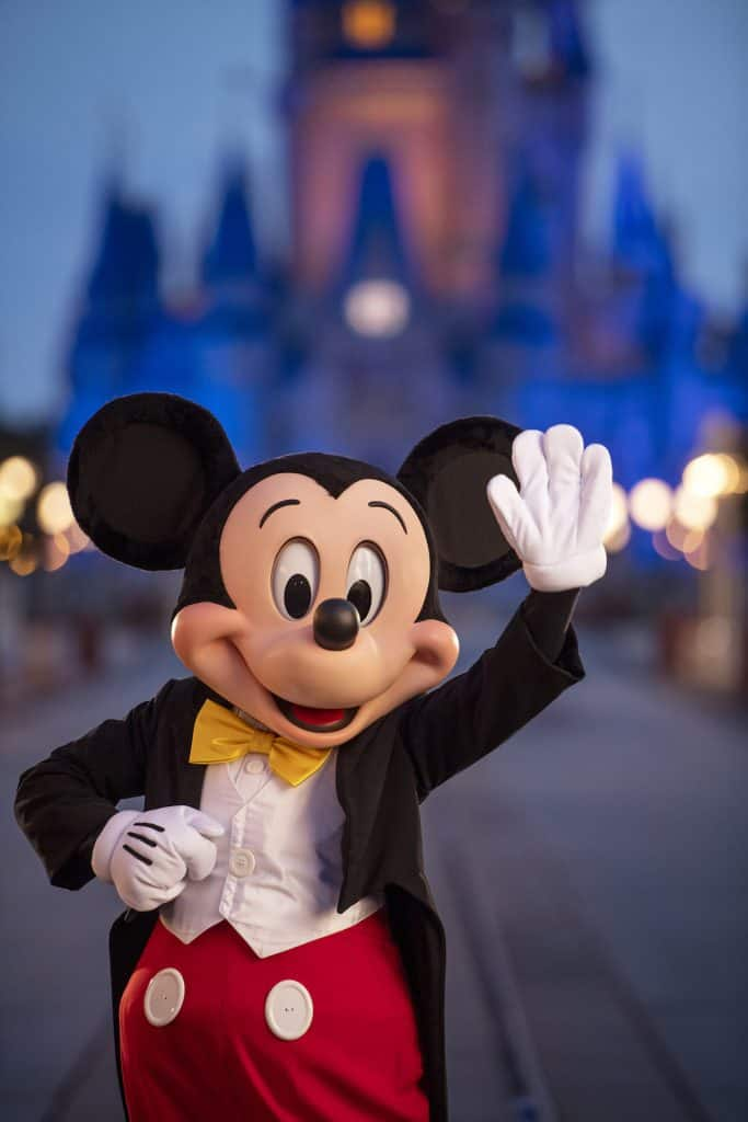 Mickey Mouse at Magic Kingdom Park
