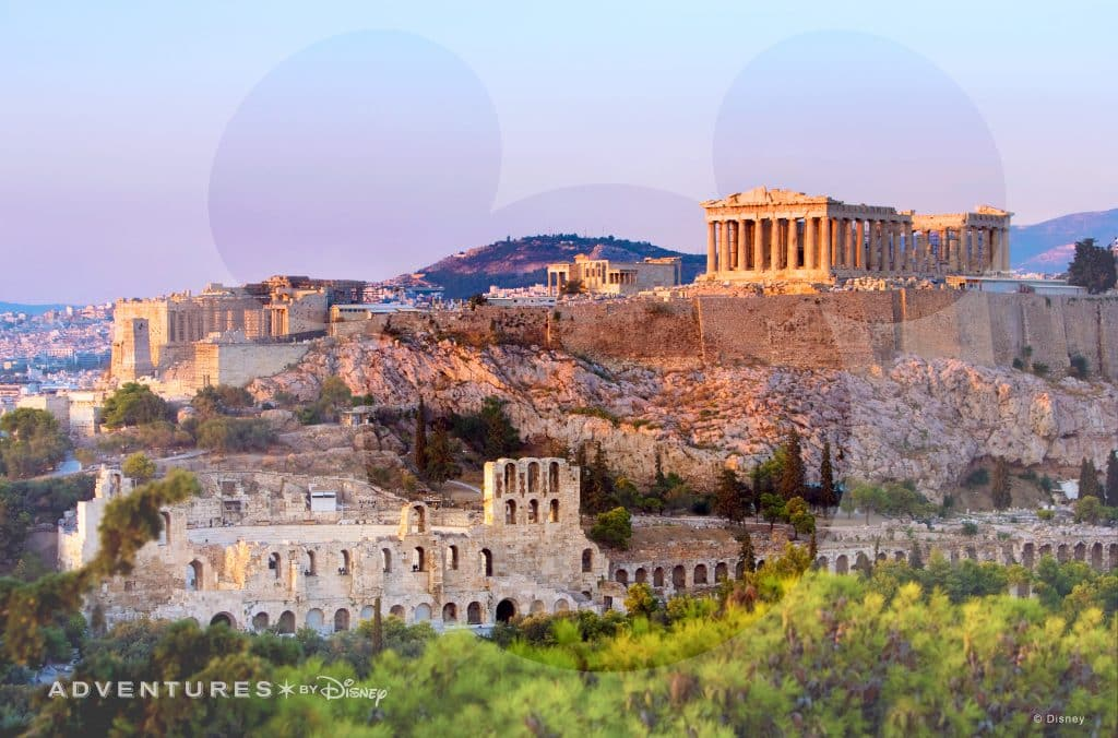 Adventures by Disney Virtual Backdrop: Acropolis
