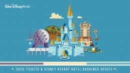 Walt Disney World: 2020 Tickets & Disney Resort Hotel Bookings Update