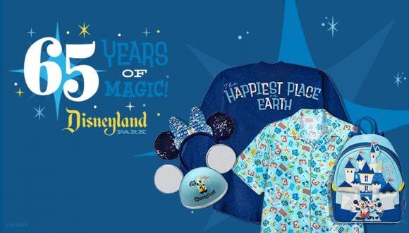Disneyland Park 65th Anniversary Merchandise Collection
