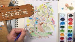 Adventureland-Inspired Treehouse