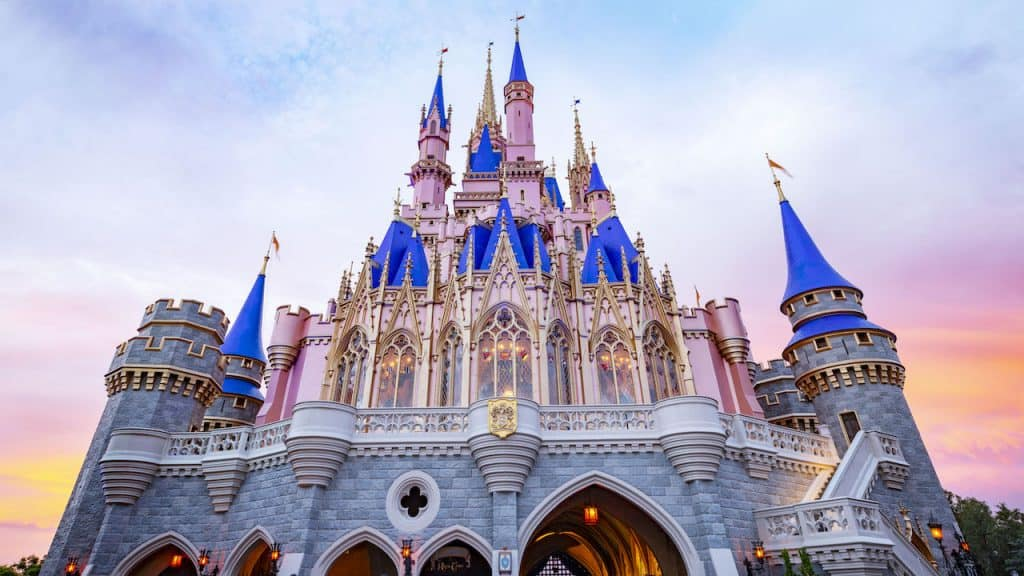 Cinderella Castle at Magic Kingdom Park