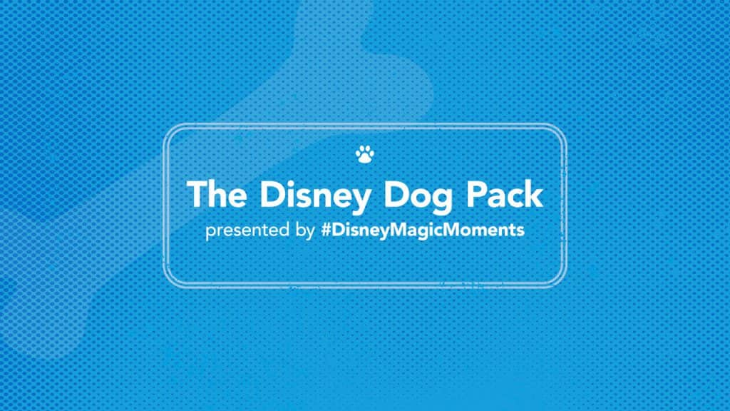 The Disney Dog Pack presented by #DisneyMagicMoments