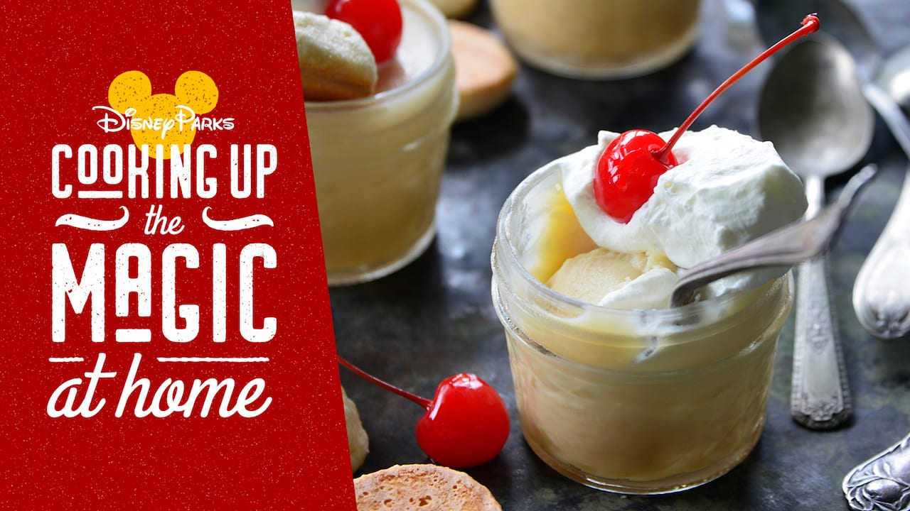 #DisneyMagicMoments: Cooking Up the Magic – White Chocolate Budino Recipe from Disney's Newest Cookbook