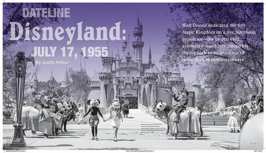 Dateline Disneyland: July 17, 1955