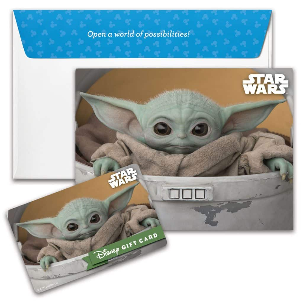 "New Disney Gift Card design featuring ""The Mandalorian"""