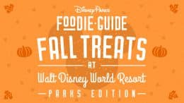 Foodie Guide to 2020 Fall Treats at Walt Disney World Resort