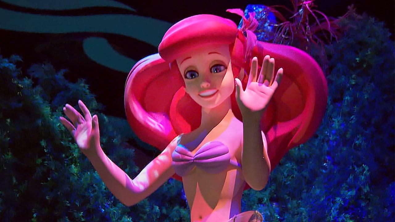 The Little Mermaid ~ Ariel's Undersea Adventure at Disneyland Resort | Disney Parks Blog