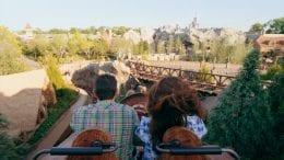 Family on Seven Dwarfs Mine Train