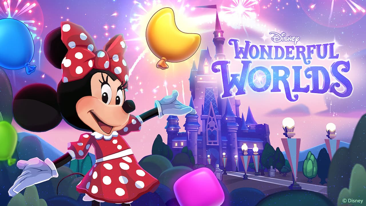 Customize Your Own Magical Disney Park with the New Mobile Puzzle Game, Disney Wonderful Worlds thumbnail