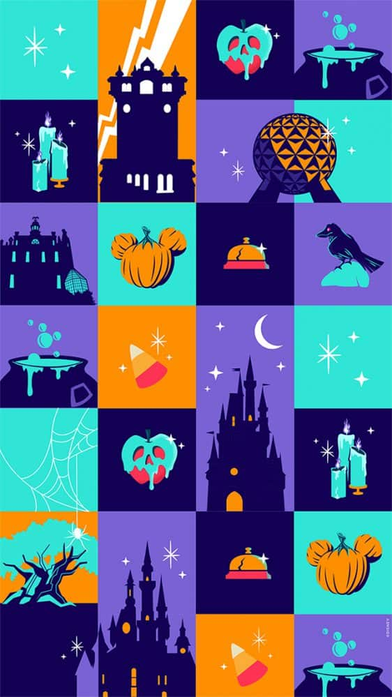 Halloween Wallpaper Graphic 2020 2020 Happy Halloween Wallpaper – iPhone/Android/Watch | Disney
