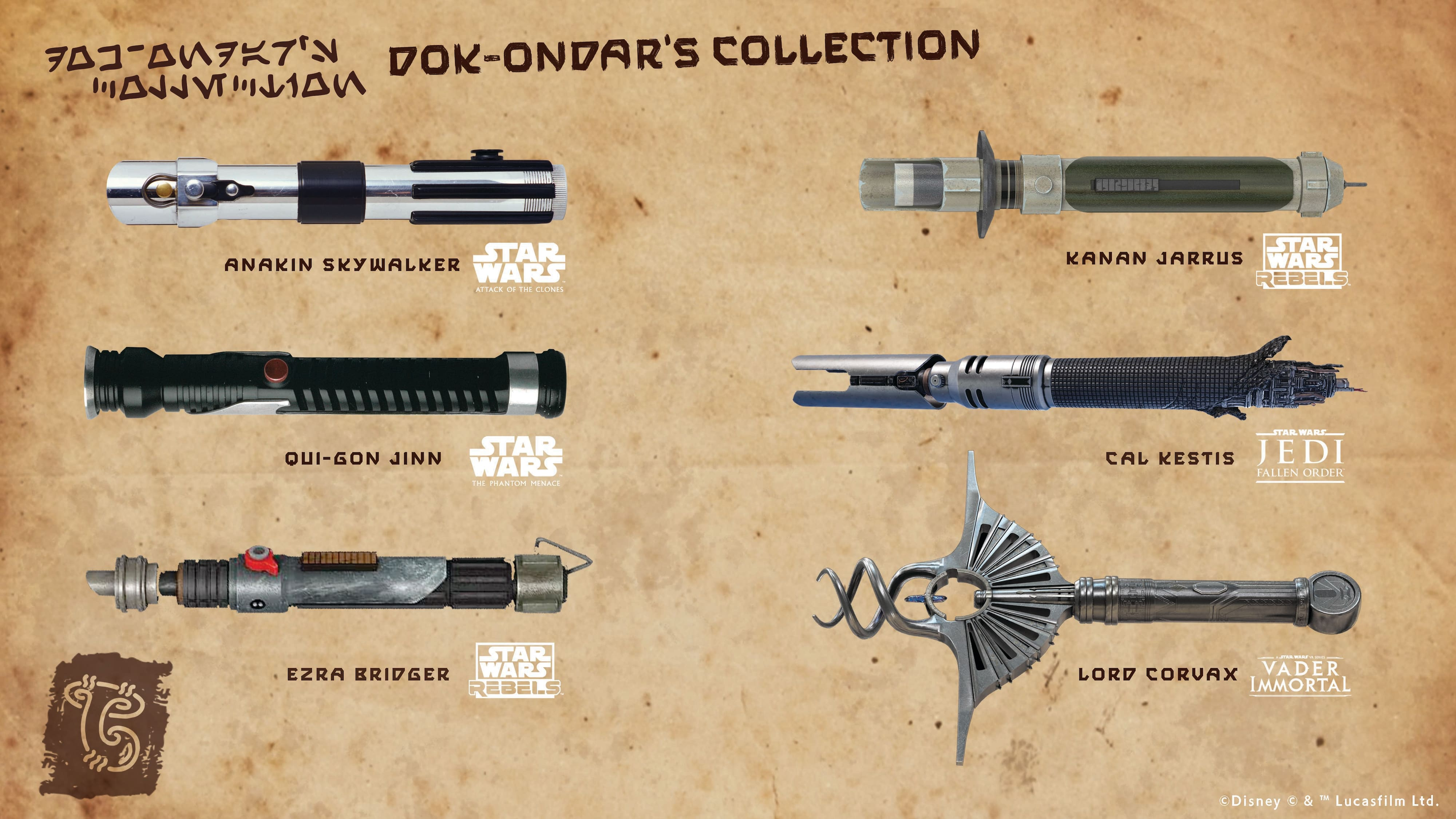 Vote For The Next Legacy Lightsaber In Celebration Of Products Direct From Star Wars Galaxy S Edge Coming To Shopdisney Disney Springs And Downtown Disney District Disney Parks Blog