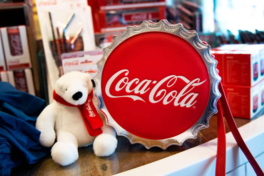 Items from the Coca-Cola x Walt Disney World Resort Collection at Disney Springs