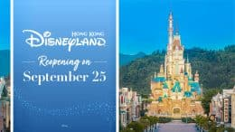 Hong Kong Disneyland Announces Reopening