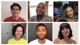 "Disney on Broadway stars Jelani Alladin Krysta Rodriguez, Mandy Gonzalez, Rodney Ingram, Michael James Scott and Syndee Winters sing ""Go the Distance"" from ""Hercules"""