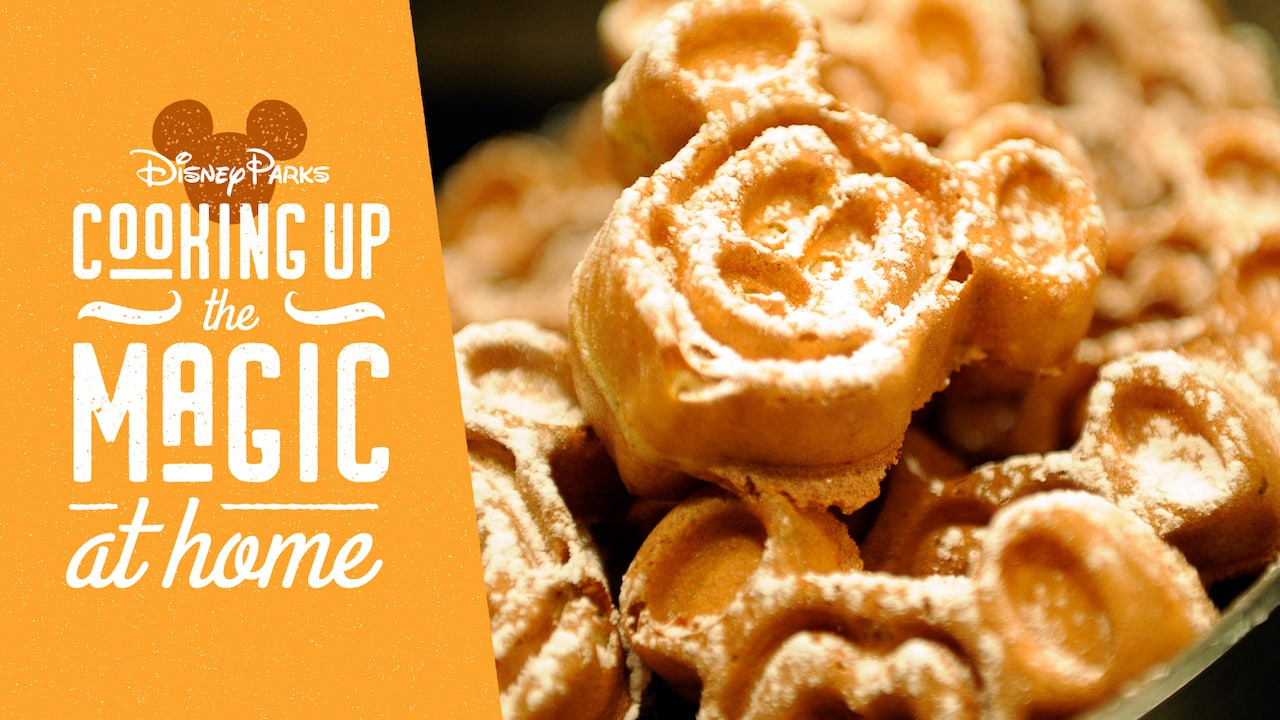 #DisneyMagicMoments – Cooking Up the Magic with a Yummy Recipe to Kick off Waffle Week!