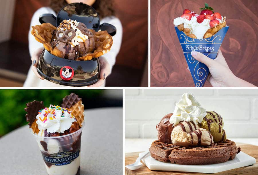 Waffles treats from Disney Springs