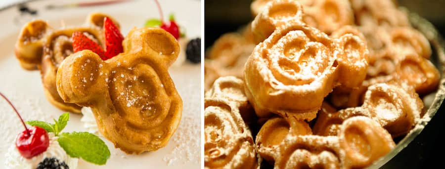 Mickey Waffles from Disney Cruise Line and Aulani – A Disney Resort & Spa, and Disneyland Paris
