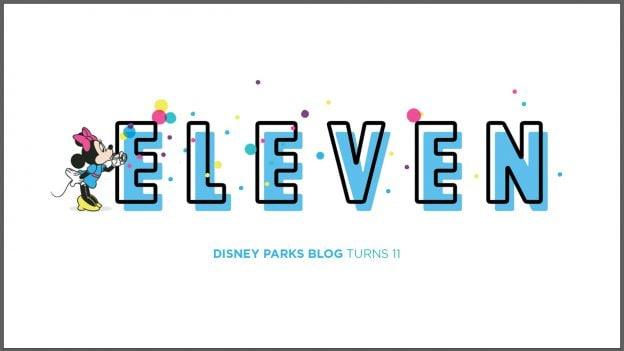 Disney Parks Blog 11th Anniversary
