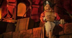 """Ahoy, me Disney-lovin' hearties! We're weighing anchor on our celebration of """"International Talk Like a Pirate Day"""" with a treasure chest o' photos featuring the Pirates of the Caribbean attraction- past and present - from 'round the world."""