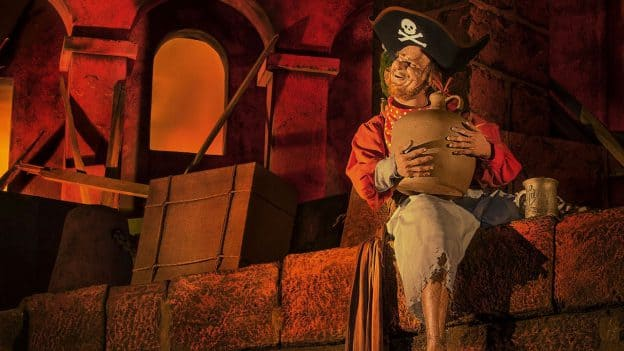 "Ahoy, me Disney-lovin' hearties! We're weighing anchor on our celebration of ""International Talk Like a Pirate Day"" with a treasure chest o' photos featuring the Pirates of the Caribbean attraction- past and present - from 'round the world."