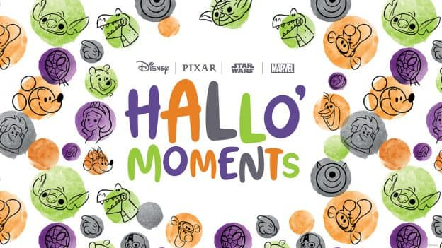 #DisneyHalloMoments graphic