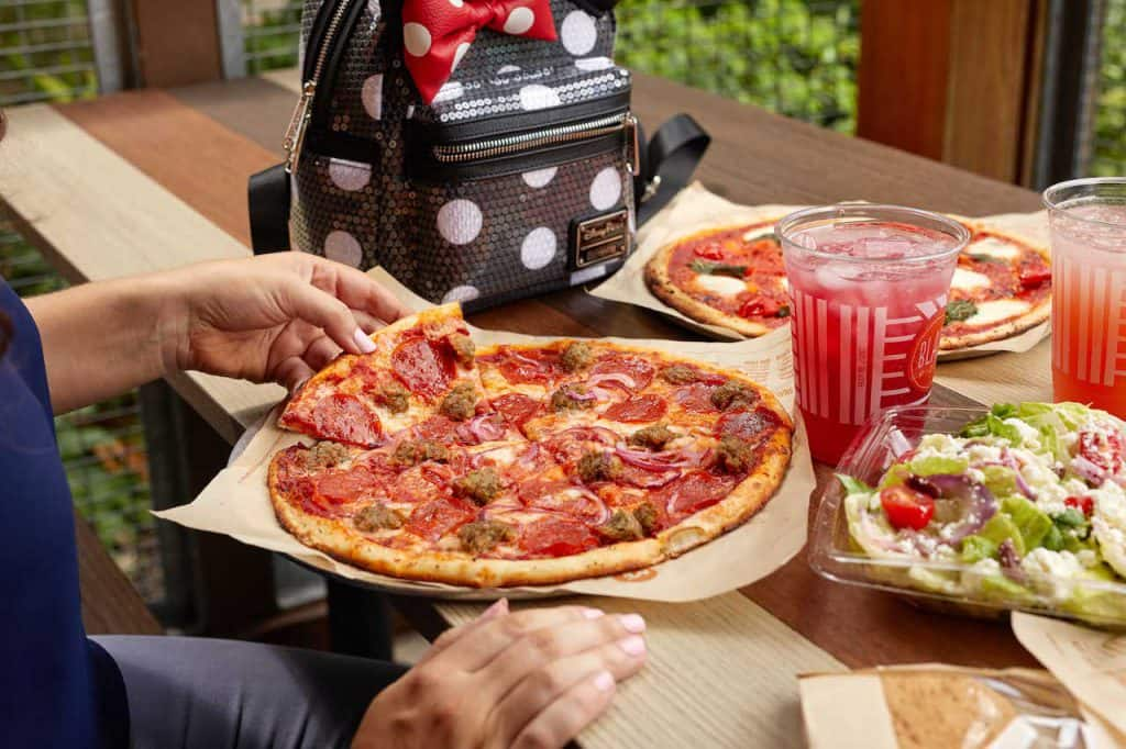 Meat Eater Pizza from Blaze Pizza for Weekday Delights at Disney Springs for the Fall 2020 Season