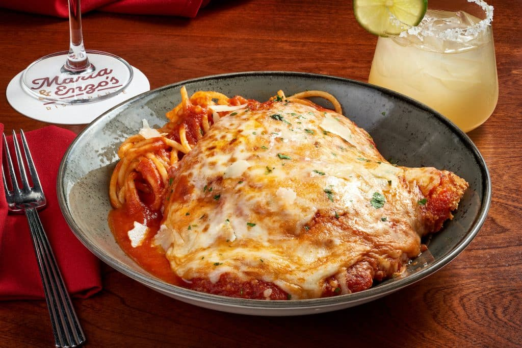 Pollo Alla Parmigiana from Maria & Enzo's for Weekday Delights at Disney Springs for the Fall 2020 Season