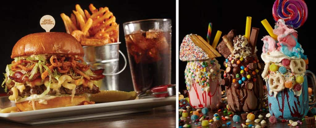 Items from Planet Hollywood for Weekday Delights at Disney Springs for the Fall 2020 Season