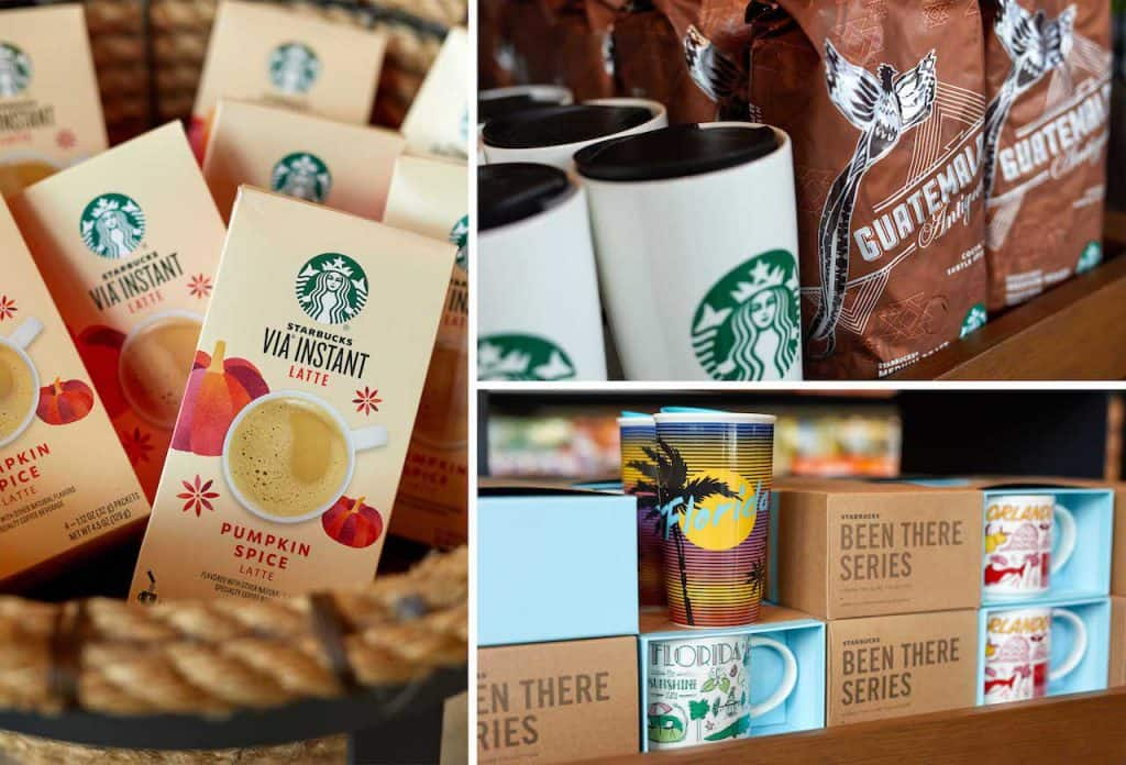 Retail Coffee and Merchandise from Starbucks for Weekday Delights at Disney Springs for the Fall 2020 Season