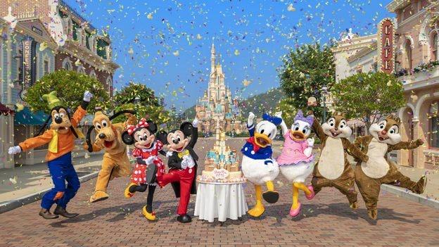 Hong Kong Disneyland Resort Celebrates 15th Anniversary