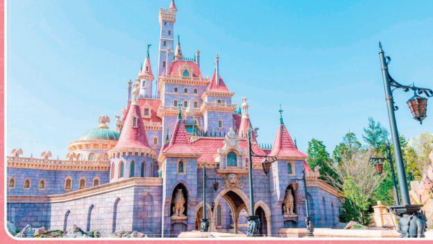 Beast Castle in New Fantasyland at Tokyo Disneyland