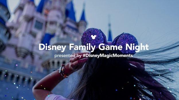 Disney Family Game Night