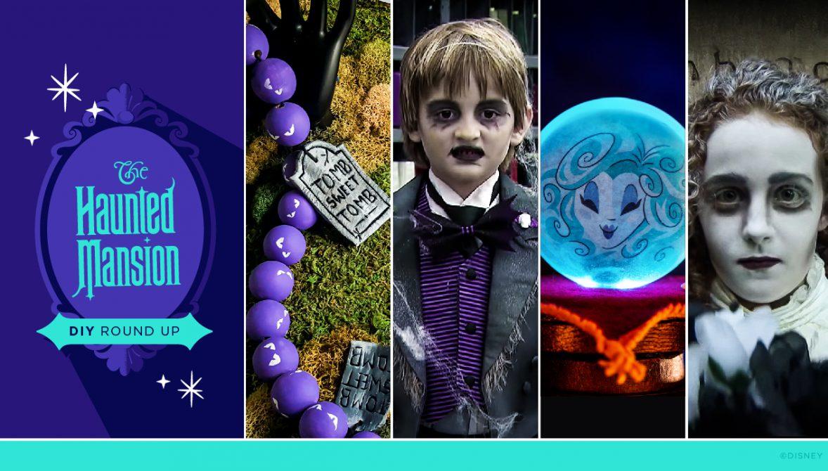 #DisneyMagicMoments: Creating Grim Grinning Garland