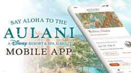 New Aulani App graphic
