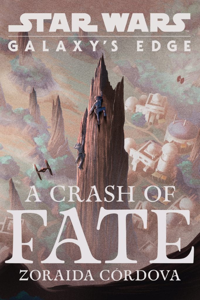 'Star Wars: Galaxy's Edge: A Crash of Fate' book cover