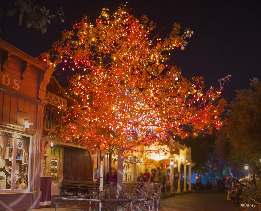 The Halloween Tree at Disneyland Park