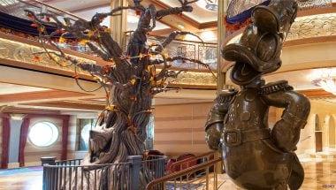 Disney Cruise Line Pumpkin Tree