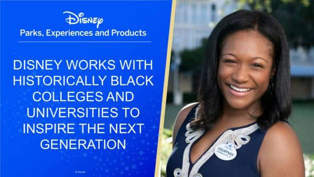 Disney Parks, Experiences and Products | Disney works with Historically Black Colleges and Universities to inspire the next generation