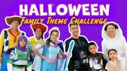 Halloween Family Theme Challenge