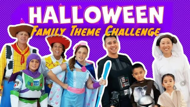 Halloween Family Theme Challenge