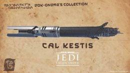 Cal Kestis' legacy lightsaber