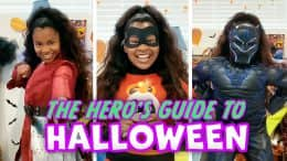 The Hero's Guide to Halloween graphic