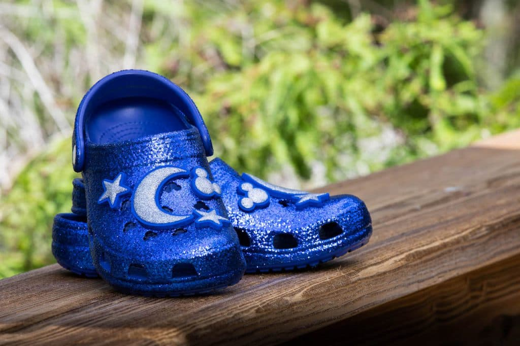 Wishes Come True Blue clogs by Crocs