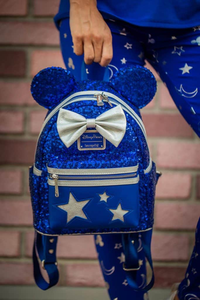 Wishes Come True Blue mini backpacks by Loungefly