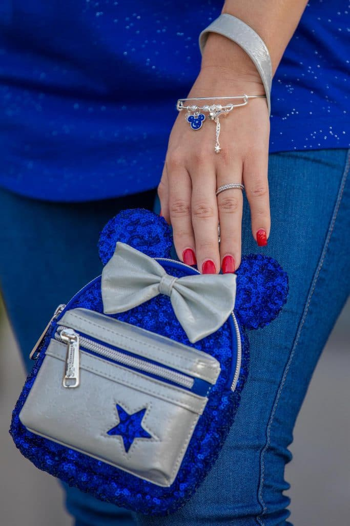 Wishes Come True Blue wristlets by Loungefly