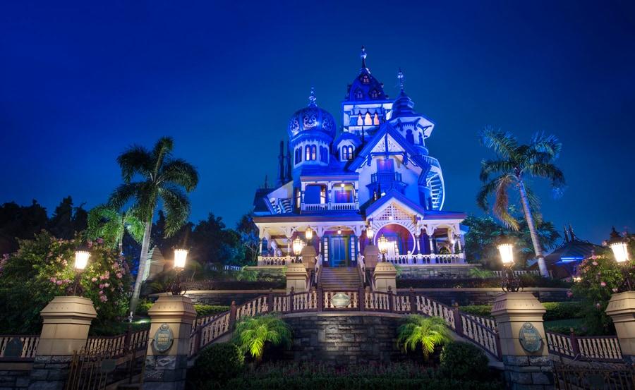 Mystic Manor at Hong Kong Disneyland
