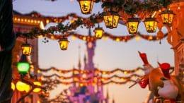 Lanterns on Main Street at Disneyland Park Paris